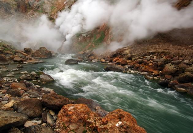 Geyser River rapids