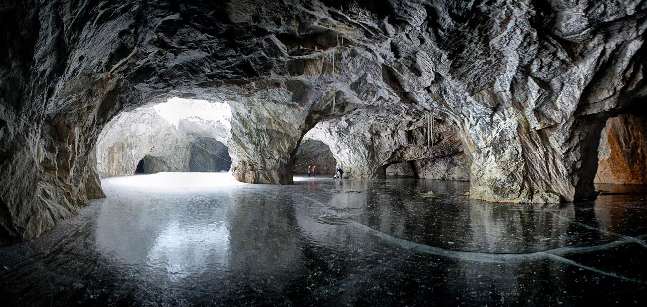 Парк и мраморный каньон Рускеала в Карелии фото где