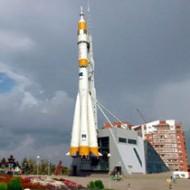 Монумент «Космической труженице». Самара