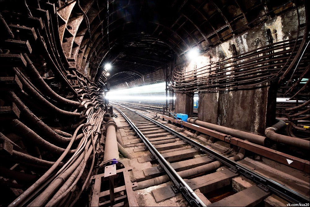 подземная москва фото