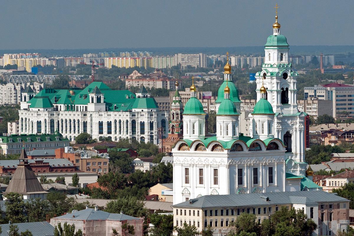 астрахань фото кремль