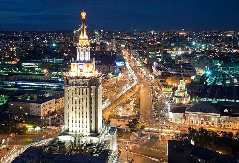 Площадь Трех Вокзалов, Москва