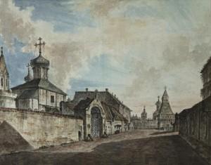 Москва до пожара 1812 года.