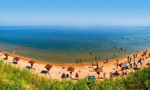 Азовское побережье Краснодарского края