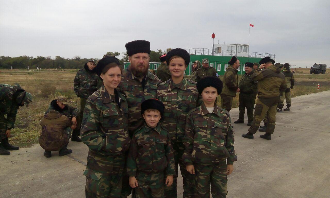 Военно-полевые сборы глазами казачат!