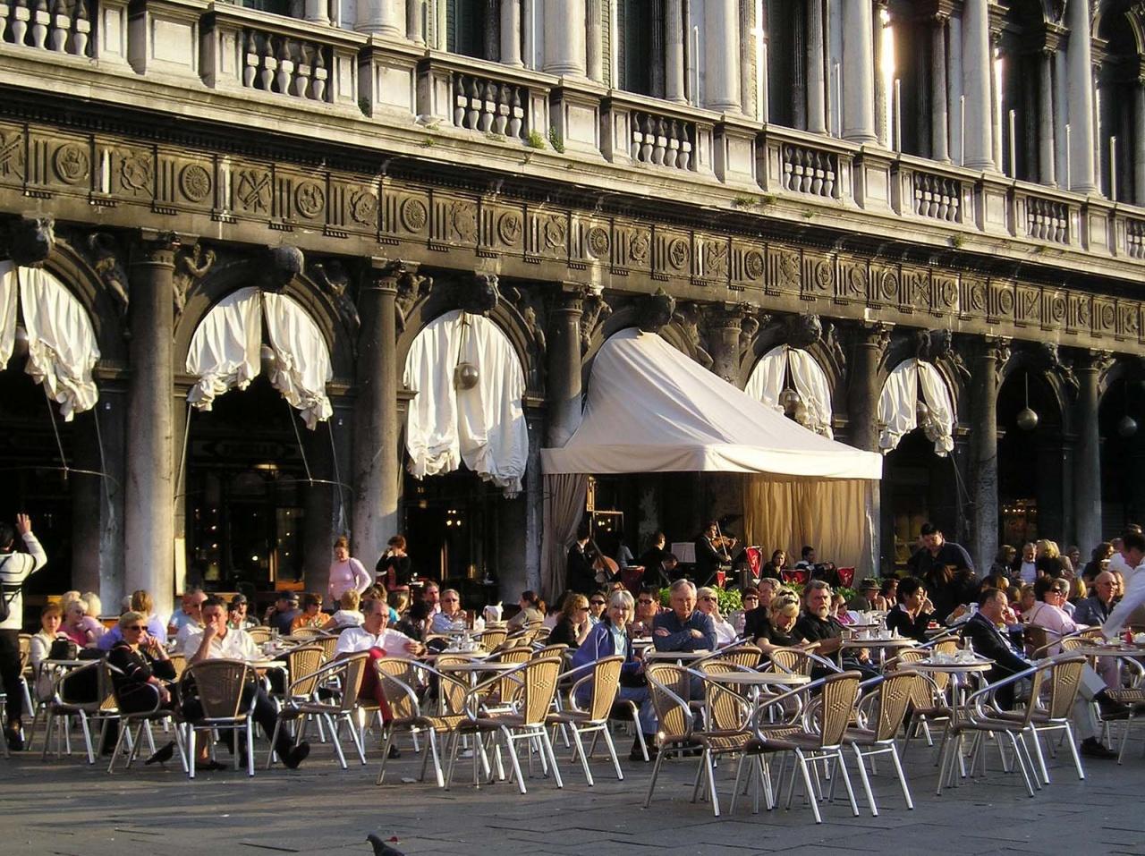 Кафе Florian. Знак Венеции