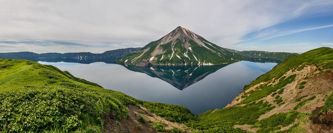 Вулкан Креницына  входит в сто чудес России!