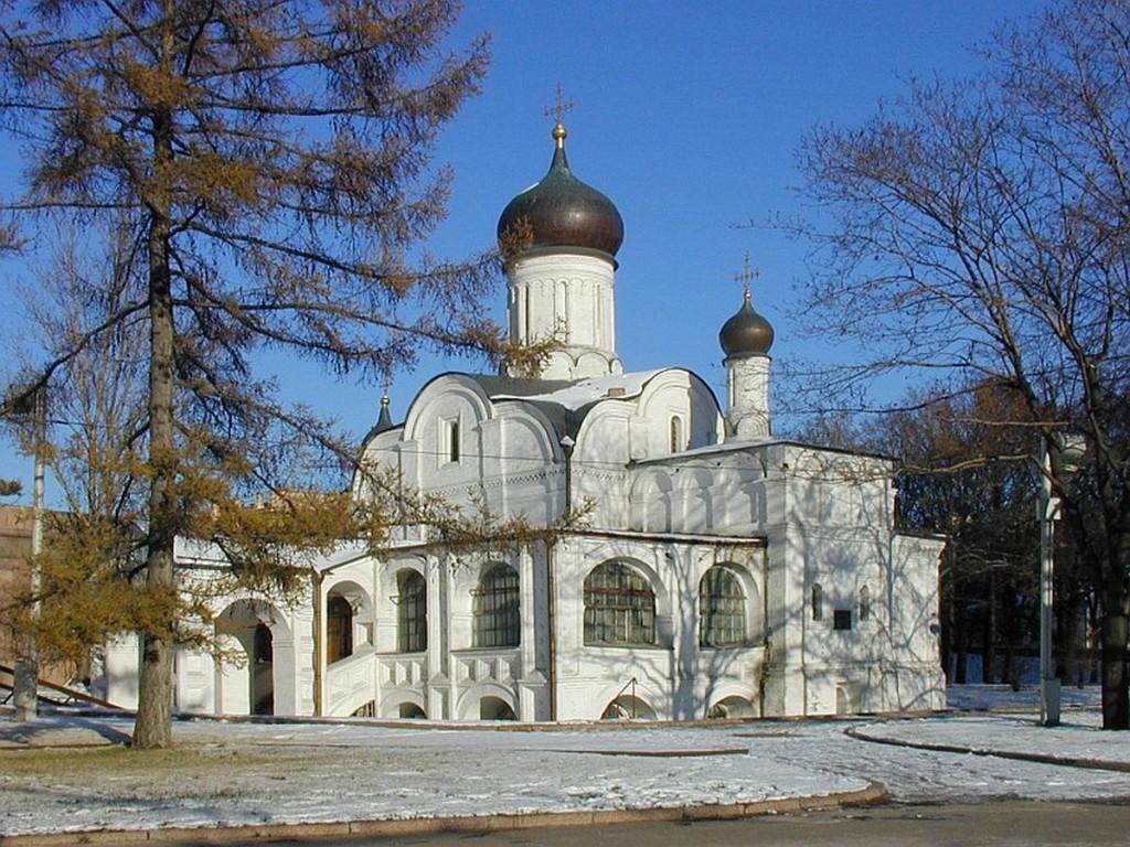 Московская церковь Зачатия св. Анны, что в Углу.