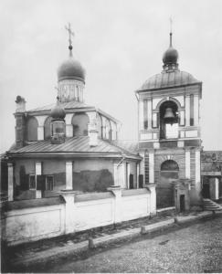 Вид храма в XIX веке. Фотография 1882 года.