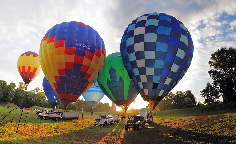 Великие Луки- столица воздушных шаров.