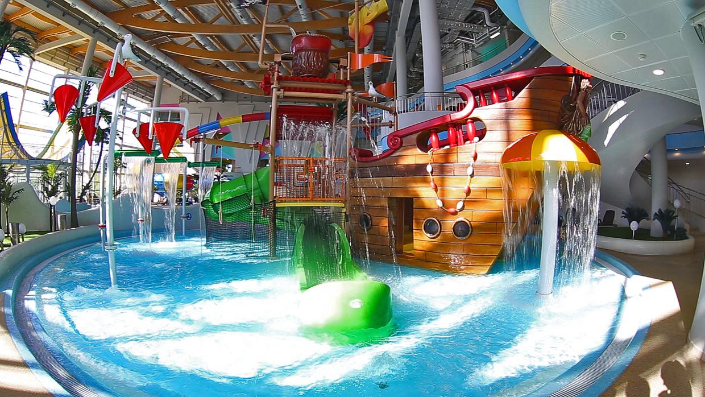 Детский городок в аквапарке «Мореон»