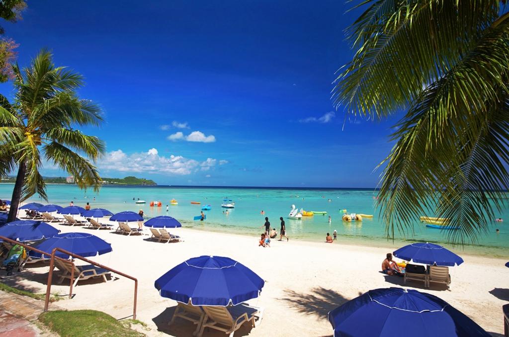 Пляжный отдых на о.Гуам.