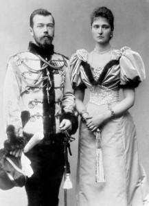 Александра Фёдоровна и Николай II