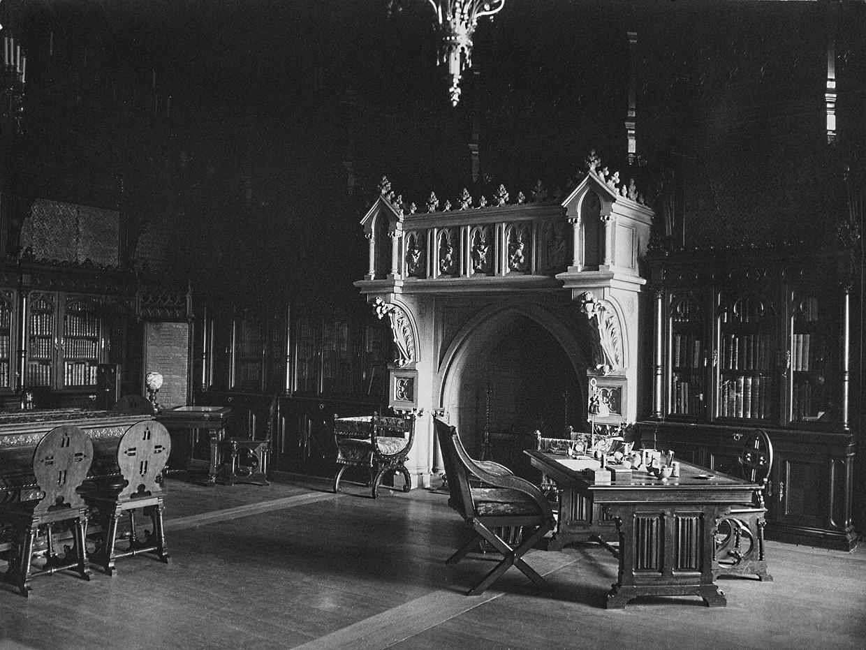 Библиотека Николая II в Зимнем дворце.