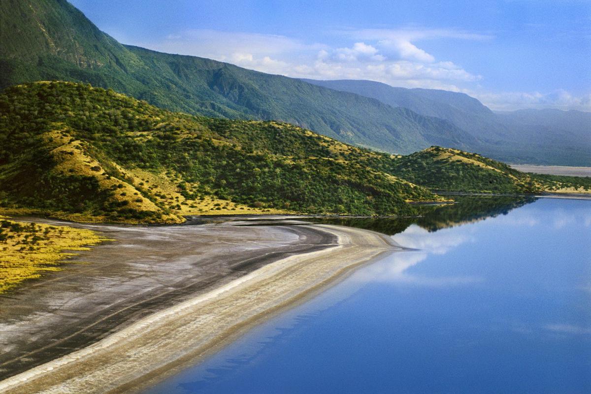 Озеро Натрон. Великая рифтовая долина в Кении