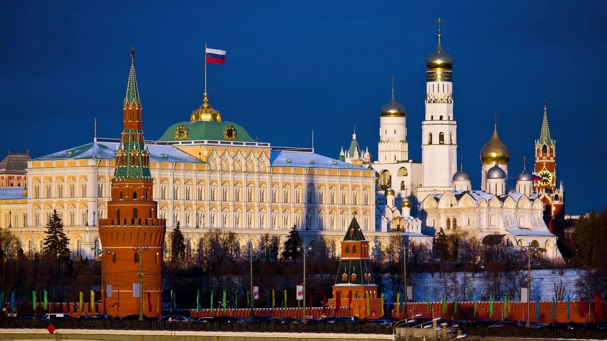Московский Кремль - символ России.