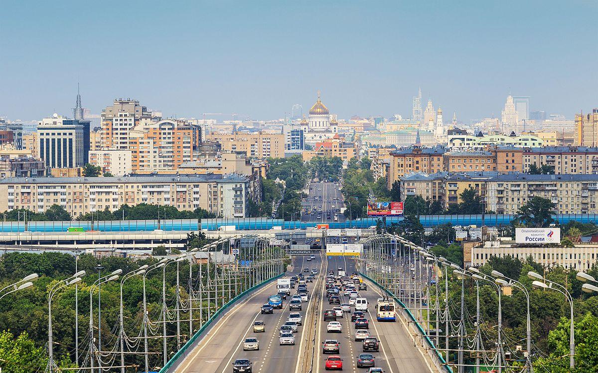 Москва - самый крупный город России