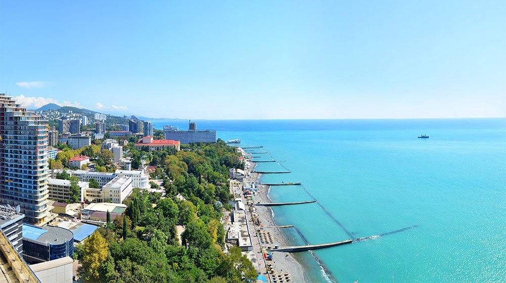 Сочи - один из самых чистых городов России