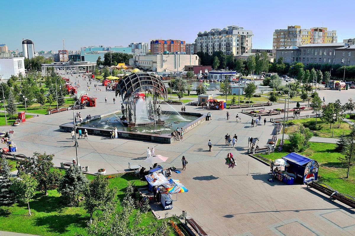Тюмень - крупный экономический и культурный центр Сибири