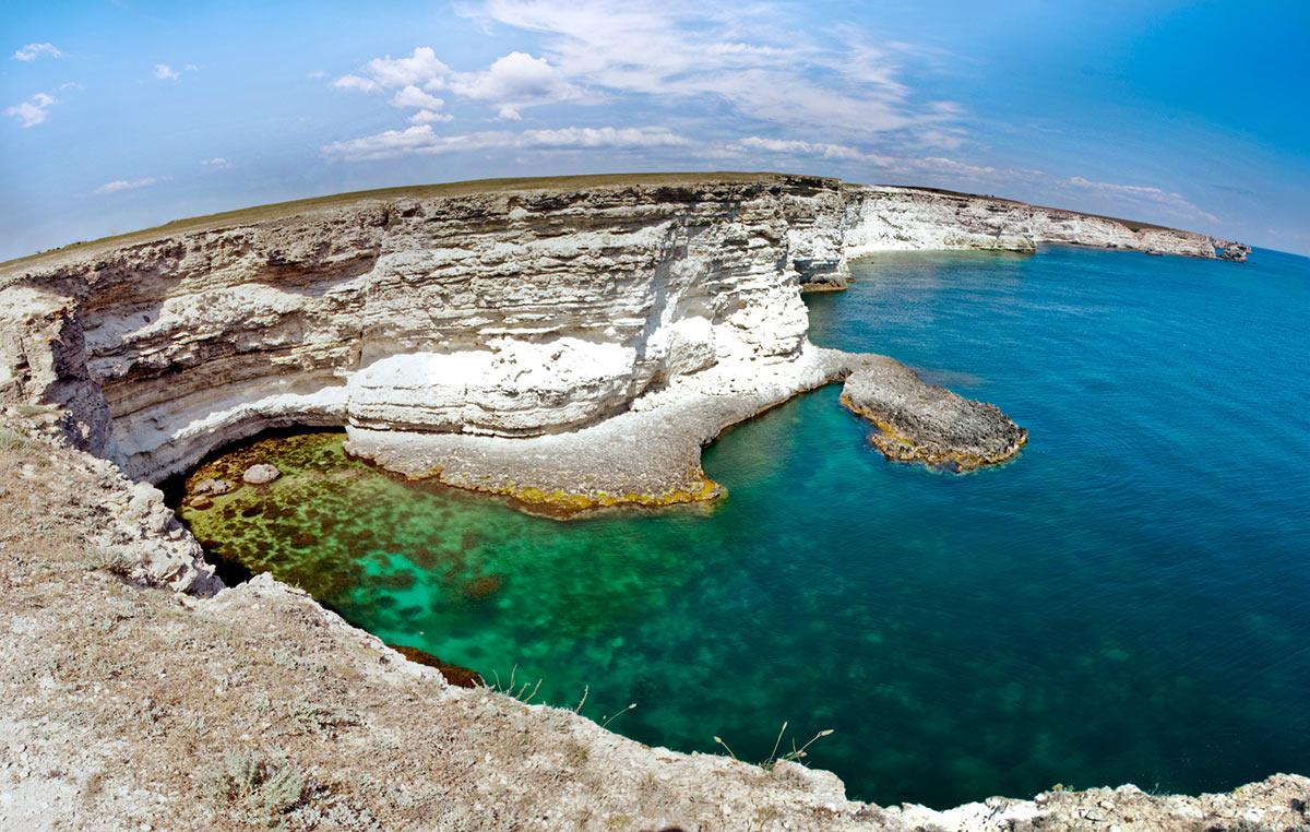 Тарханкут – полуостров на полуострове!