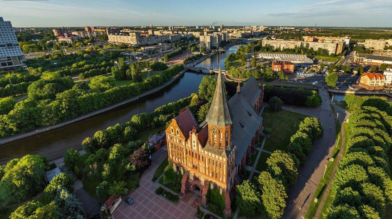 Калининград - самый западный областной центр России