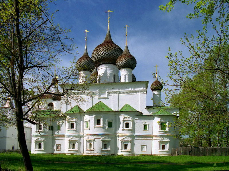 Ансамбль Воскресенского монастыря, г. Углич.