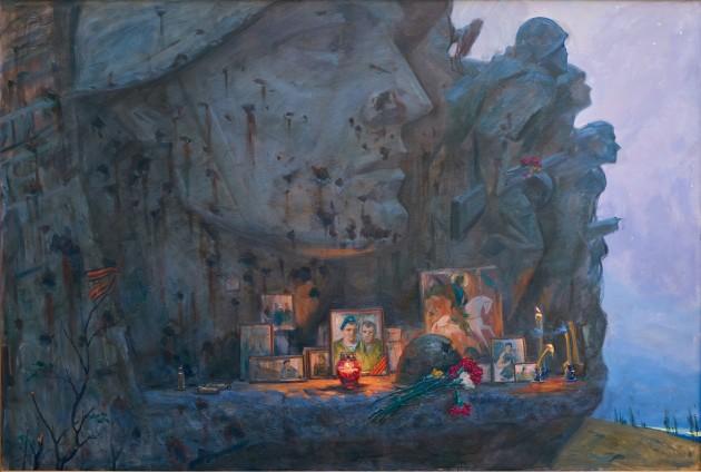 """Безмолвие. Саур-Могила"", 2017г., холст, масло"