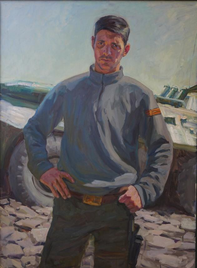 «Портрет М. С. Толстых (Гиви)», 2015 г. холст. масло.