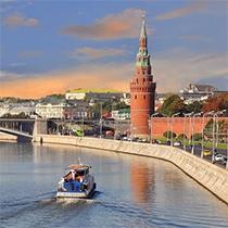 Речные прогулки по Москве-реке