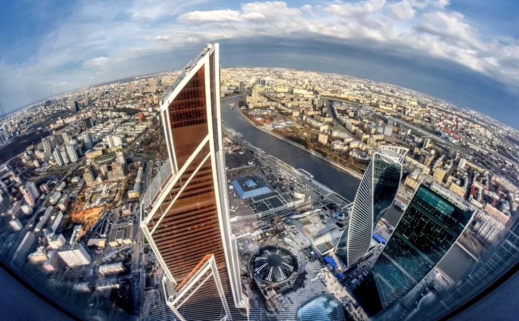 Смотровая площадка Панорама 360 Москва-Сити - самая высокая в Европе